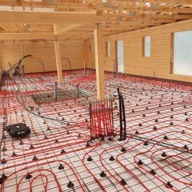 lattialämmityksen kaapelit